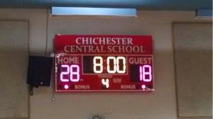 MS Girls MBL Scoreboard